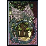 Guardian of the Sacred Grove Greeting Card