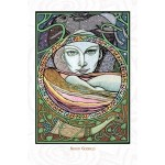 Moon Goddess Greeting Card
