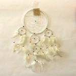 Dream Catcher White 16cm