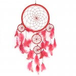 Dream Catcher Plain Red 1405 - 22cm