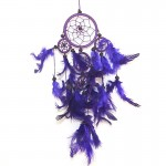 Dream Catcher Plain Purple1400- 8cm