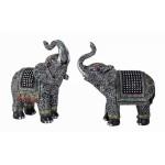 Elephant with Glitter Stones 6331-1 pc