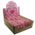 Love Heart Stone & Bracelet with Pouch 2180 - 24 Pcs