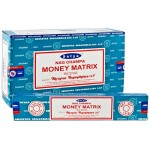 Money Matrix Incense 15g Satya