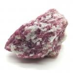 Rubellite Crystal on Quartz/Feldspar 3in