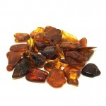 Amber Tumbled Stone 10-20mm (20g)
