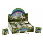 Unicorn Rainbow Lying H 4.5cm 5395- 24 pcs