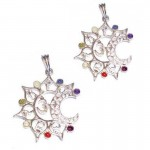 2 For 1 Price - Chakra Silver Plated Pendant SP Chain