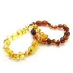 Amber Baroque Nugget Bracelet Small Adult