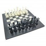 Hand Carved Marble Chess Set & Board