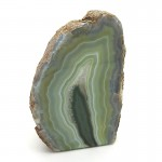 Green Agate Tea Light Holder