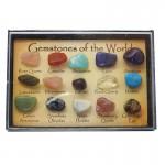 Gem Stones Box Set of 15 Mini Size Stones