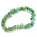 Amazonite 55mm Chip Bracelet
