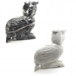 Marble Owl 10in