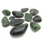 Ruby in Zoisite Tumbled Stone 20-30mm (100g)