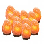 Salt Lamp 2 to 3 Kg Complete Special Box of 12 Pcs