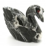 Marble Swan (4in)