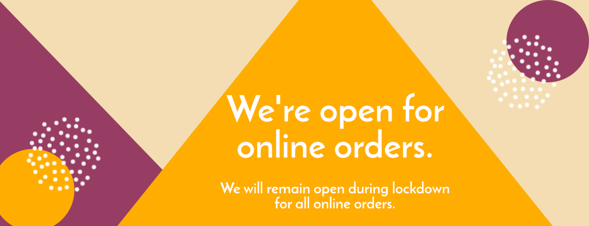 Online Orders Still Available