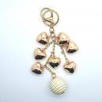Love Jewellery Keyrings - 7 Hearts (1 Pc) LIK001