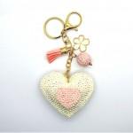 Love Jewellery Keyrings - Big Heart (1 Pc) LIK003