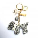 Love Jewellery Keyrings - Silver Dog (1 Pc) LIK004