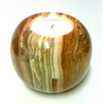 Marble Tea Light Ball (Medium)