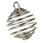 Spiral Cage for Stones Round (12 Pcs)