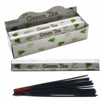 Green Tea Incense Hex (6 TBS) Stamford