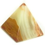Marble Pyramid (3.0in)