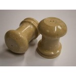 Marble Salt & Pepper Set 2 Pcs