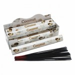Coconut Incense Hex (6TBS) Stamford