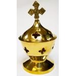 Brass Incense Burner 35153-2 pcs