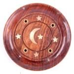 Ash Catcher Plate Inlay Moon & Stars 51001-5(6 Pcs)