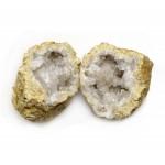 Geodes White Quartz Size 0