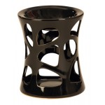 Ceramic Oil Burner Black 3197 -1 Pc