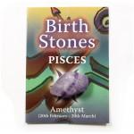 Birthstone Pisces ( Amethyst)