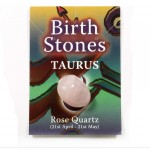 Birthstone Taurus (Rose Quartz)