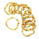 Citrine 53mm Chip Bracelet