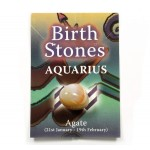 Birthstone Aquarius (Agate)