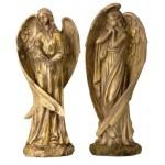 Angel Standing Antique H 43cm 5401-1 pc