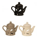 Ceramic Oil Burner Teapot H 11cm 7194 - 1