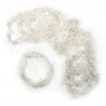 Crystal 53mm Chip Bracelet