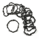 Hematite 53mm Chip Bracelet