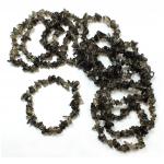 Smokey Quartz 53mm Chip Bracelet
