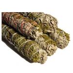 White Sage & Juniper Smudge Stick 8in