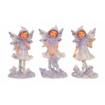 Purple Fairy Standing 5449-3 pcs