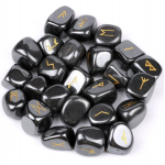 Hematite Rune Stones