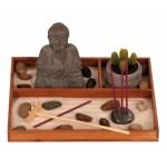 Buddha Set Zen Garden 8418-1 Pcs