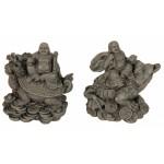 Buddha Sitting on Dragon Frog 8495-4 pcs