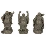 Buddha Standing Grey 8496-6 pcs